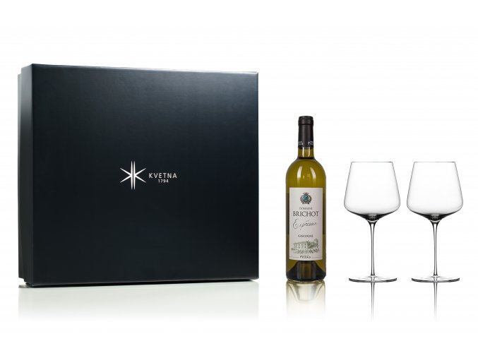 Květná set bílé víno Domaine Brichot