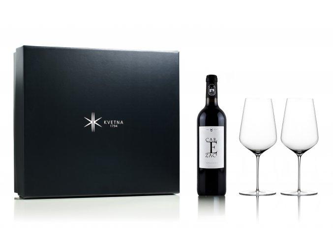 Květná set červené víno Minervois Tradition