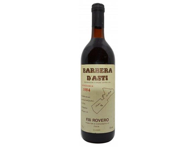 Barbera d´Asti 1984 (Fratelli Rovero)