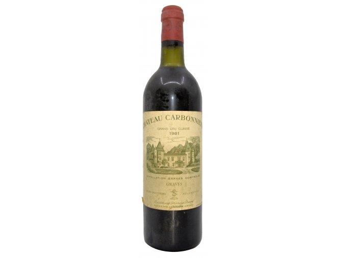 Ch. Carbonnieux rouge 1981
