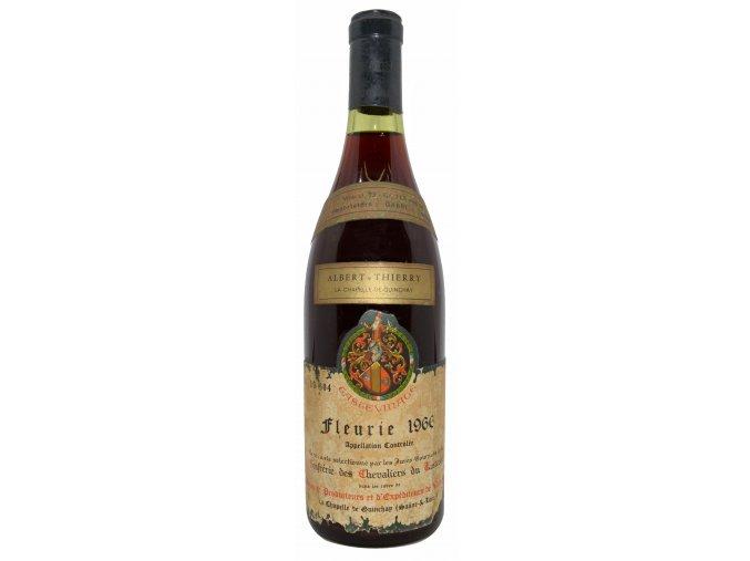 Fleurie 1966 (Union de Producteurs et d'Expediteurs de Vins)