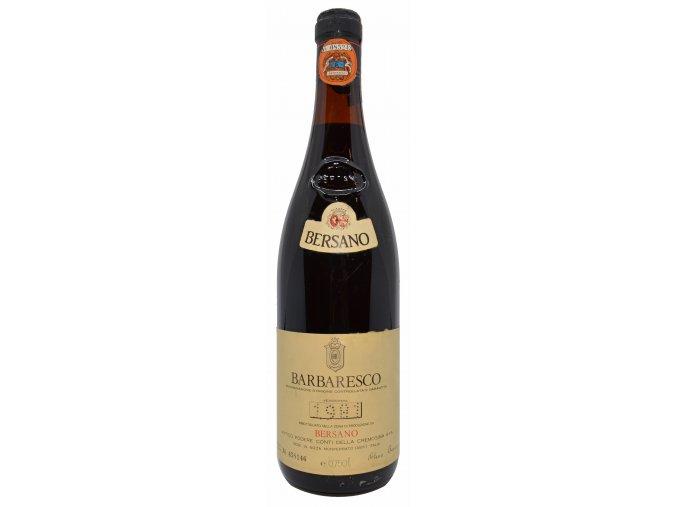 Barbaresco 1981 (Bersano)
