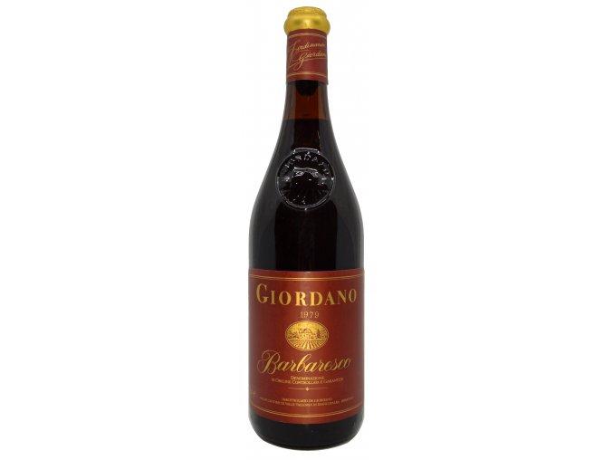 Barbaresco 1979 (Giordano)