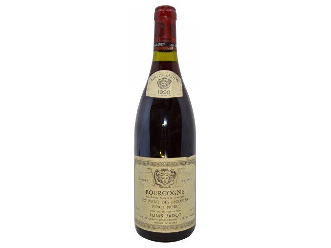 Bourgogne Pinot Noir Couvent des Jacobins 1990 (Louis Jadot)