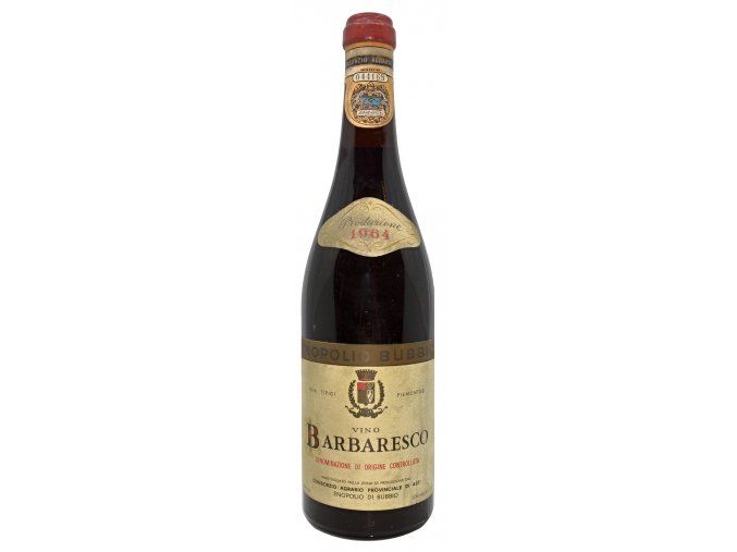 Barbaresco 1964 (Enopolio di Bubbio) 1