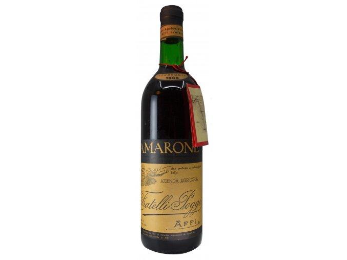 Amarone 1969 (F.lli Poggi)