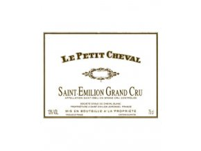 Le Petit Cheval 2011  Chateau Cheval Blanc