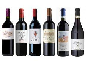 Degustační sada Bordeaux Piemont
