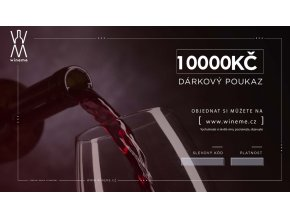 Dárkový poukaz 10000