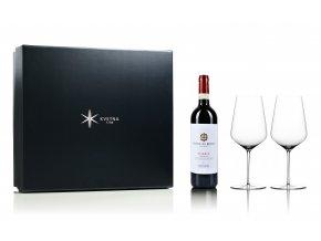Květná set červené víno Chianti Riserva Falacia