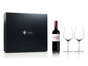 Květná set červené víno Ch. Moulin Haut Villars