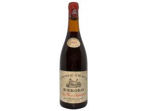 Barolo Il Vino Dei Re Il Re Dei Vini 1958 (Luigi Bosca & Figli)
