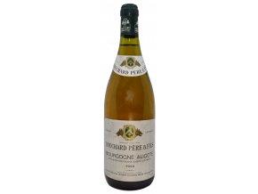 Bourgone Aligote 1992 (Bouchard Pere et Fils)