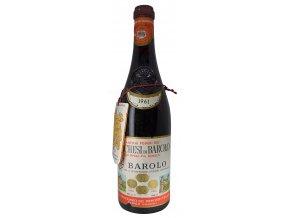 Barolo 1961 (Marchesi di Barolo) 1