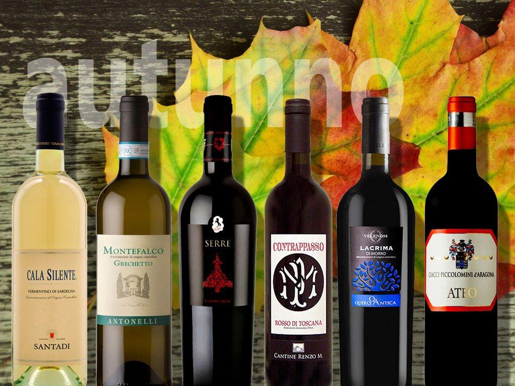 podzimní výběr italských vín