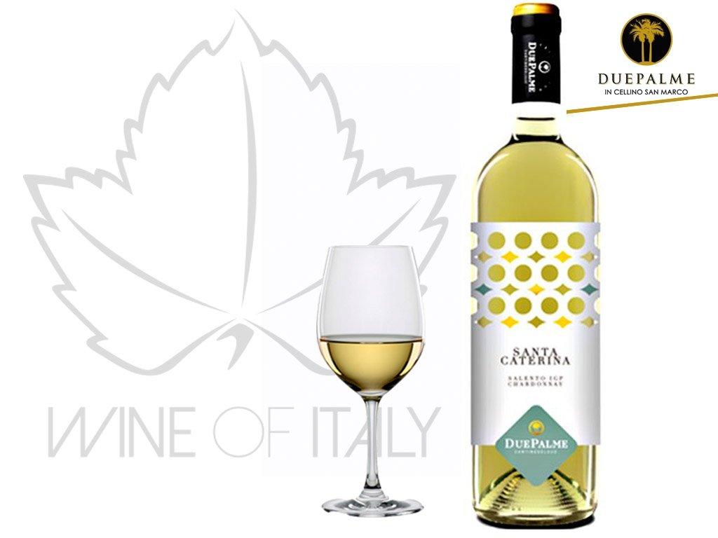 Chardonnay Salento SANTA CATERINA IGP Celebration Due Palme