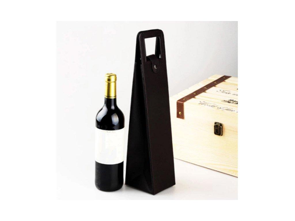 obal barex kůže na víno