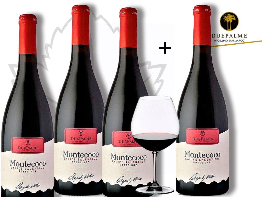 Salice Salentino Rosso MONTECOCO DOP 3+1