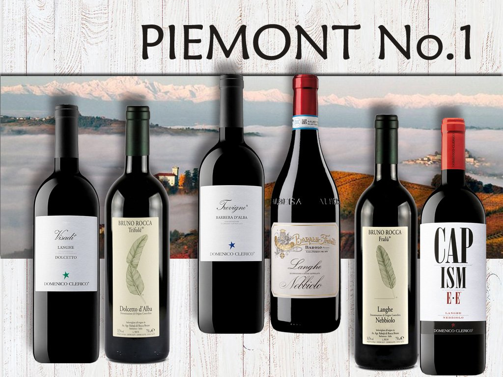 degustační bedýnka Piemont No1
