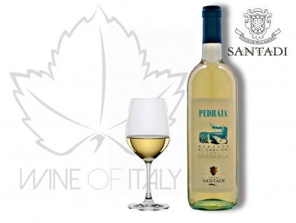 PEDRAIA Nuragus di Cagliari DOC, Cantina Santadi - wineofitaly.cz
