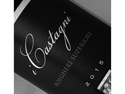I Castagni, Bolgheri Rosso Superiore D.O.C. (ročník 2009)
