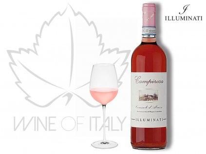 Montepulciano d'Abruzzo Cerasuolo Campirosa DOC Illuminati vini