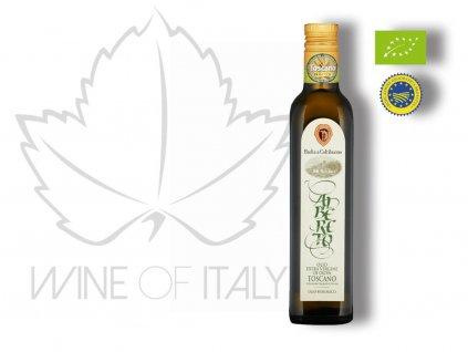 Albereto Tuscan IGP Extra panenský olivový olej Badia a Coltibuono vzor