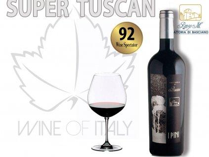 I PINI supertoskánské víno z oblasti Chianti Rufína
