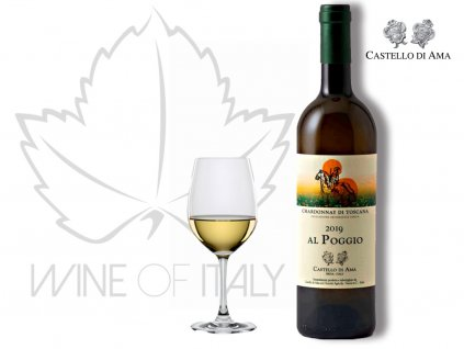Chardonnay di Toscana AL POGGIO IGT Castello di AMA