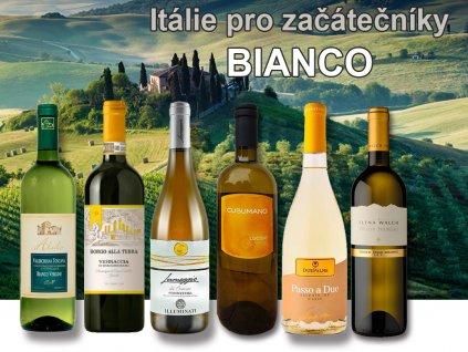 itálie pro začátečníky Bianco degustační bedýnka