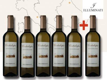 white wine costalupo akce 5+1