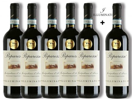Montepulciano d´Abruzzo RIPAROSSO DOC 5+1 Illuminati vini