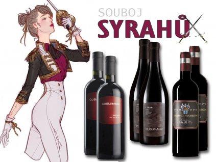 Souboj vín z odrůdy SYRAH