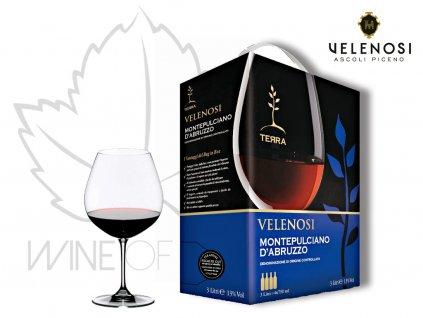 BiB Montepulciano d´AbruzzoVelenosi vini
