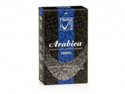 100% Arabica Franco Caffe, zrnková káva 250 g