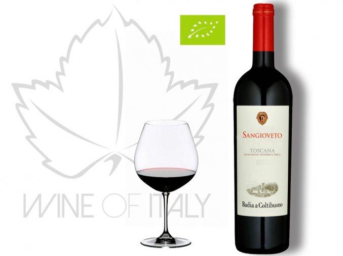 Sangioveto Toscana Rosso IGT, Badia a Coltibuono - wineofitaly.cz