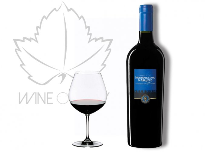 MONTEPULCIANO D´ABRUZZO DOC Velenosi - wineofitaly.cz
