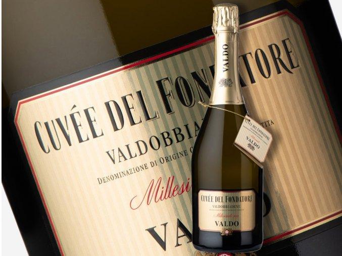 Cuvée del Fondatore Prosecco di Valdobbiadene DOCG, Valdo Spumanti - wineofitaly.cz