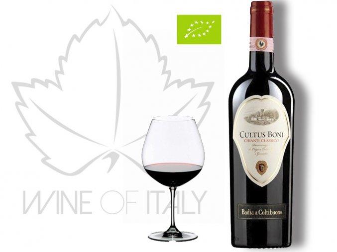 Cultus Boni Chianti Classico DOCG Badia a Coltibuono - wineofitaly.cz