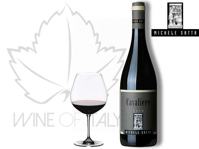 Cavaliere, Rosso di Toscana I.G.T., Michele Satta - wineofitaly.cz