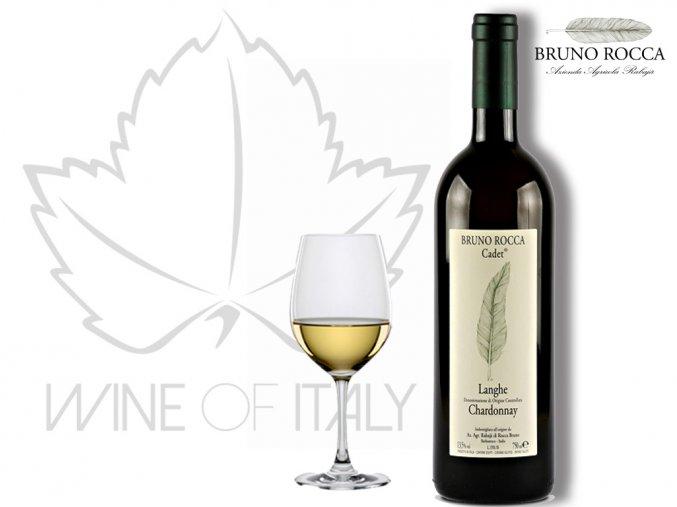 Cadet Langhe Chardonnay DOC Bruno Rocca Rabajá - wineofitaly.cz