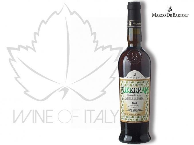 Bukkuram Padre della Vigna Passito di Panelleria DOC, Marco De Bartoli - wineofitaly.cz