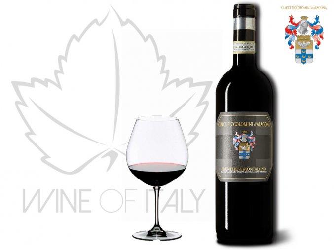 Brunello di Montalcino DOCG, r. 2011 Ciacci Piccolomini d´Aragona Wine of Italy