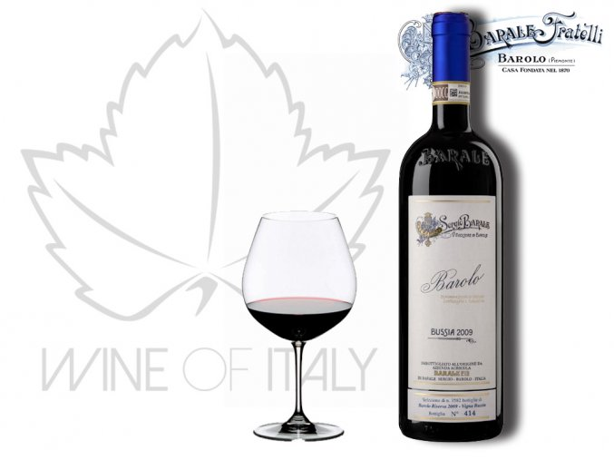 Barolo Vigna Bussia DOCG Barale Fratelli - wineofitaly.cz