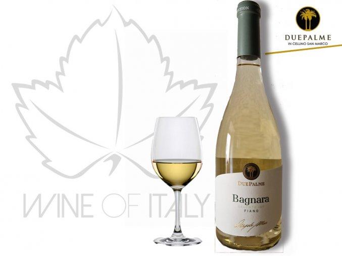 Bagnara Fiano Salento IGP Cantine Due Palme - wineofitaly.cz