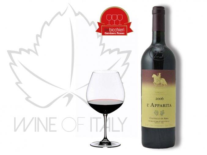 """L'Apparita"" I.G.T. (Ročník vína 2005)"