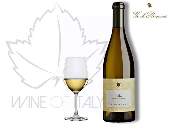 Piere Sauvignon, Friuli Isonzo Sauvignon D.O.C., Vie di Romans - wineofitaly.cz