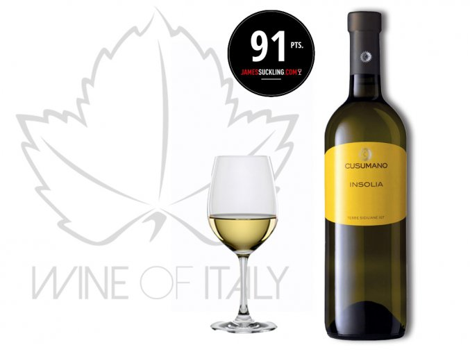Insolia Sicilia Bianco IGT, Cusumano - wineofitaly.cz