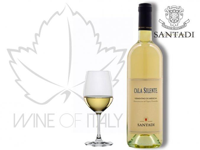 Cala Silente Vermentino di Sardegna DOC, Cantina Santadi - wineofitaly.cz