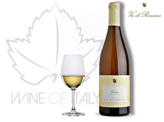 Dessimis Friuli Isonzo Pinot Grigio DOC Vie di Romans  Wine of Italy